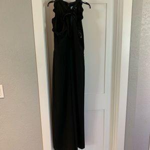CeCe black pant jumpsuit, halter top 6